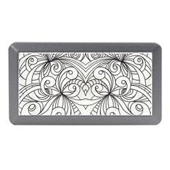Drawing Floral Doodle 1 Memory Card Reader (mini)