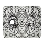 Drawing Floral Doodle 1 Samsung Galaxy S  III Flip 360 Case Front