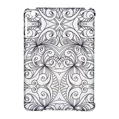 Drawing Floral Doodle 1 Apple iPad Mini Hardshell Case (Compatible with Smart Cover)