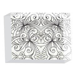 Drawing Floral Doodle 1 5 x 7  Acrylic Photo Blocks