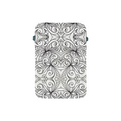 Drawing Floral Doodle 1 Apple iPad Mini Protective Soft Cases