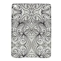 Drawing Floral Doodle 1 iPad Air 2 Hardshell Cases