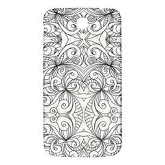 Drawing Floral Doodle 1 Samsung Galaxy Mega I9200 Hardshell Back Case