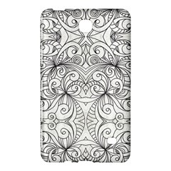 Drawing Floral Doodle 1 Samsung Galaxy Tab 4 (8 ) Hardshell Case