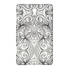 Drawing Floral Doodle 1 Samsung Galaxy Tab S (8.4 ) Hardshell Case