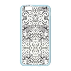Drawing Floral Doodle 1 Apple Seamless iPhone 6/6S Case (Color)