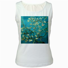 Blossoming Almond Tree Women s Tank Tops