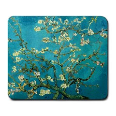 Blossoming Almond Tree Large Mousepads