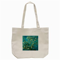 Blossoming Almond Tree Tote Bag (cream)