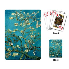 Blossoming Almond Tree Playing Card