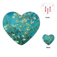 Blossoming Almond Tree Playing Cards (Heart)