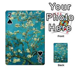 Blossoming Almond Tree Playing Cards 54 Designs
