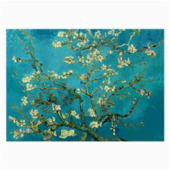 Blossoming Almond Tree Large Glasses Cloth