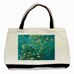 Blossoming Almond Tree Basic Tote Bag (two Sides)