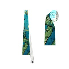 Blossoming Almond Tree Neckties (one Side)