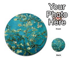 Blossoming Almond Tree Multi Purpose Cards (round)