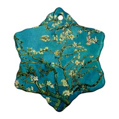 Blossoming Almond Tree Ornament (Snowflake)