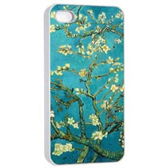 Blossoming Almond Tree Apple iPhone 4/4s Seamless Case (White)