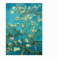 Blossoming Almond Tree Large Garden Flag (Two Sides)