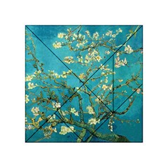 Blossoming Almond Tree Acrylic Tangram Puzzle (4  x 4 )