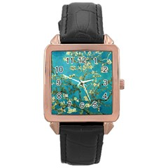 Blossoming Almond Tree Rose Gold Watches