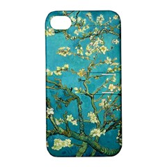 Blossoming Almond Tree Apple iPhone 4/4S Hardshell Case with Stand