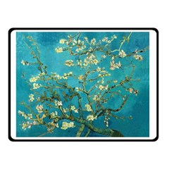 Blossoming Almond Tree Double Sided Fleece Blanket (Small)