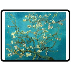 Blossoming Almond Tree Double Sided Fleece Blanket (Large)