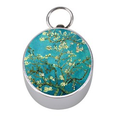 Blossoming Almond Tree Mini Silver Compasses