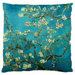 Blossoming Almond Tree Large Flano Cushion Cases (Two Sides)