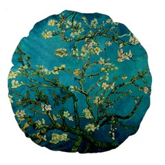 Blossoming Almond Tree Large 18  Premium Flano Round Cushions