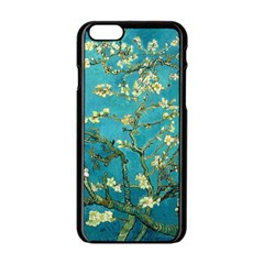 Blossoming Almond Tree Apple Iphone 6/6s Black Enamel Case