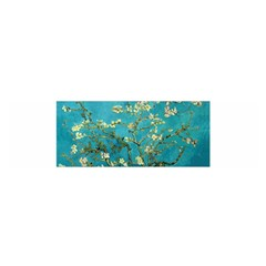 Blossoming Almond Tree Satin Scarf (oblong)