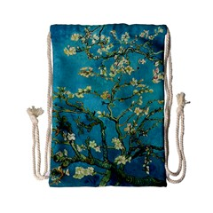 Blossoming Almond Tree Drawstring Bag (Small)