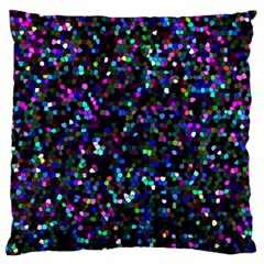 Glitter 1 Large Flano Cushion Cases (Two Sides)