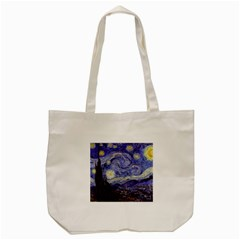 Van Gogh Starry Night Tote Bag (Cream)