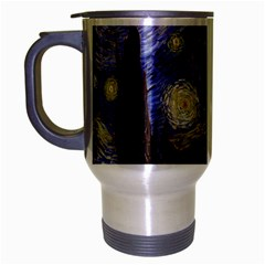 Van Gogh Starry Night Travel Mug (silver Gray)