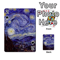 Van Gogh Starry Night Playing Cards 54 Designs