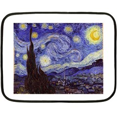 Van Gogh Starry Night Fleece Blanket (Mini)