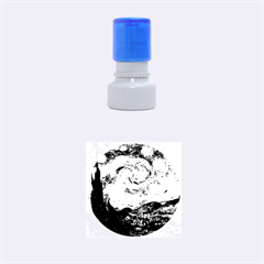 Van Gogh Starry Night Rubber Round Stamps (Small)