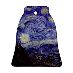 Van Gogh Starry Night Bell Ornament (2 Sides)