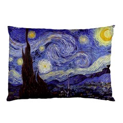 Van Gogh Starry Night Pillow Cases (two Sides)