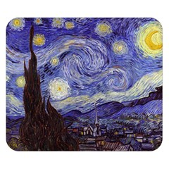 Van Gogh Starry Night Double Sided Flano Blanket (Small)
