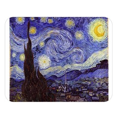 Van Gogh Starry Night Double Sided Flano Blanket (Large)