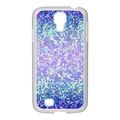 Glitter 2 Samsung GALAXY S4 I9500/ I9505 Case (White)