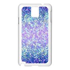 Glitter 2 Samsung Galaxy Note 3 N9005 Case (White)