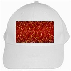 Glitter 3 White Cap