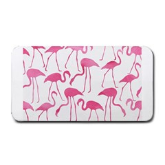 Pink Flamingos Pattern Medium Bar Mats