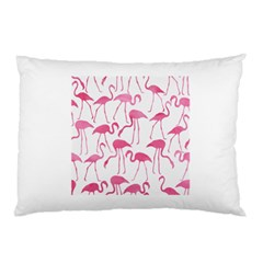 Pink Flamingos Pattern Pillow Cases (Two Sides)