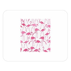 Pink Flamingos Pattern Double Sided Flano Blanket (Large)